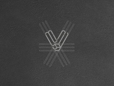 VSTONE ® GRID identity logo mark symbol typography