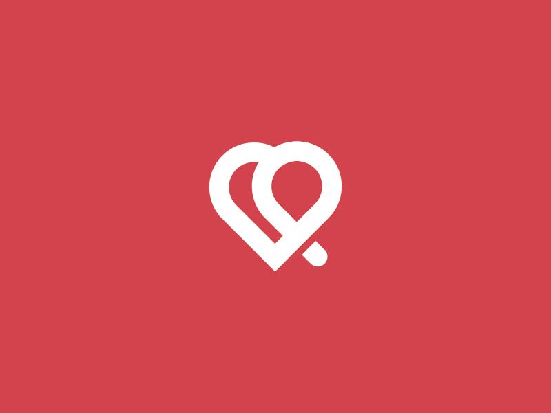 Corazón medical heart corazón logotipo logo logotype design mark symbol