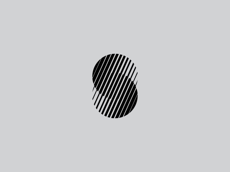 S symbol letter type logo s geometric mark design symbol