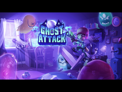 Ghost Attack Loading @characterdesign @illustration2d digitalpainting gamedesign
