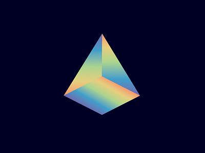 Prism colorful color prism geometric graphic design illustration shape rainbow color triangle prism