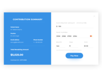 Contribution Payment