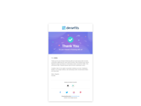 Denefits Email Template