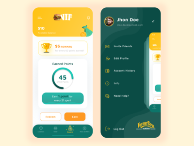 Farmer Boys App Redesign Concept