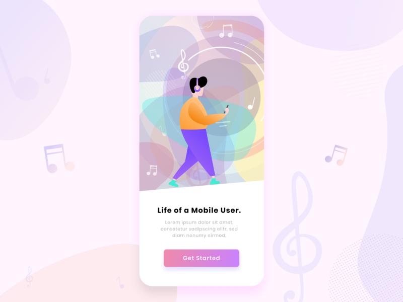 Music app Walk-through