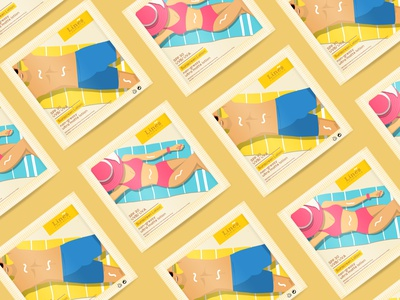 Packaging Design - Lines Cosmetics packaging mockup skin care women men box lotion sun cream sunscreen sachet packagingdesign branding shot graphic design illustration pratikartz