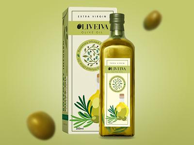 Packaging Design - Olive Olive Oil labeldesign print design graphic design illustration pratikartz olive oil logo design packaging design packaging branding