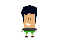 Boy Character Design Vector