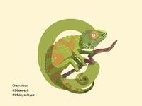 Chameleon - 36 Days Of Type