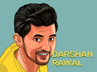 Portrait Illustration - Darshan Rawal