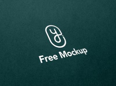 Free Minimal Logo Mockup design minimal free mockup free psd freebie free illustrator app ui vector creative brand logo