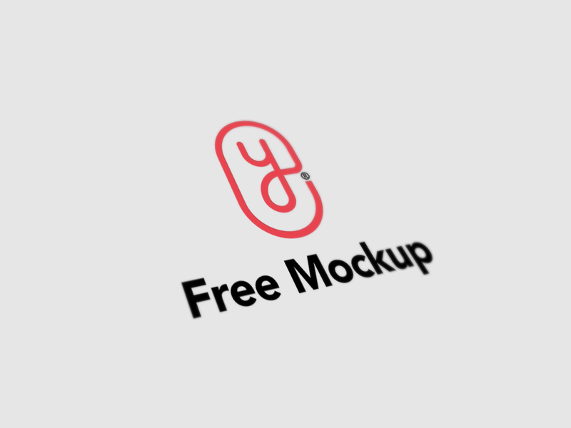 Free Minimal Logo Mockup