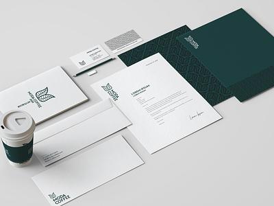 Moda Coffee - Branding minimal creative pattern moda coffee paper ui 2d icon mark branding logos design brand logo
