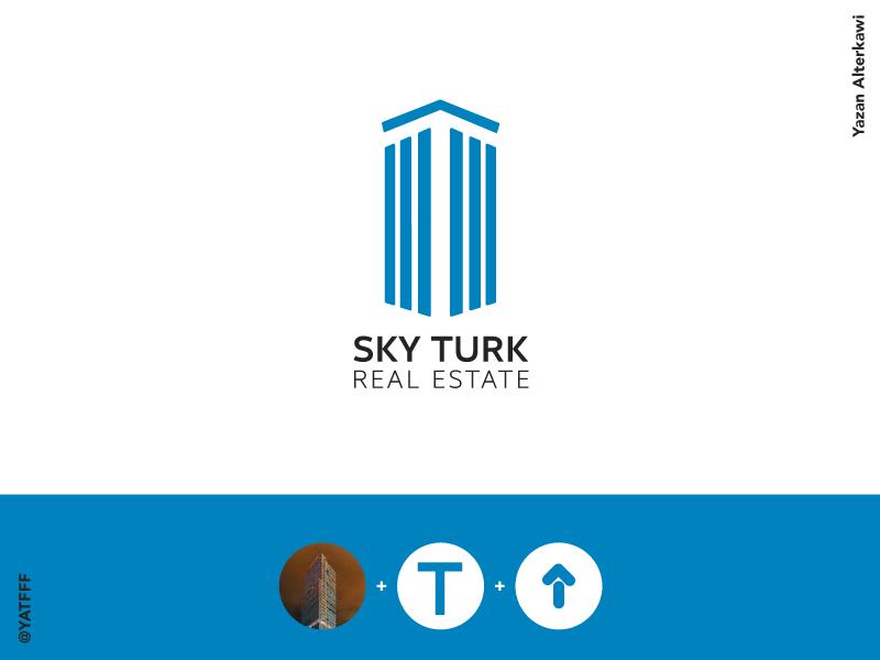 SkyTurk - logo animation anime 3ddesigner 3ddesign characterart 3dart characterartist digitalsculpting 3dprinting 3dprinter 3dprint 3d