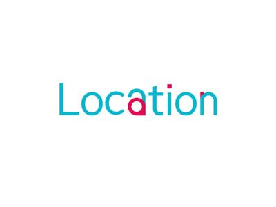 Location wordmark