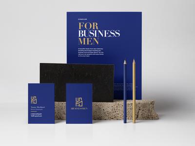 4 Business Man - Branding