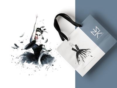 NNK Fashion - logo logo brand design logos branding mark creative illustration yatfff logomark 2d ui 3d ornament arabic turkish s sketch app istanbul