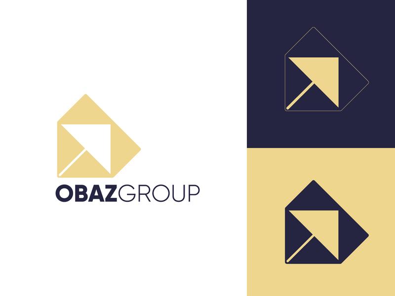 Obaz - Trade Company 3d 2d logogram yatfff creative icon mark branding design logos brand logo