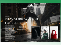 High Fashion Adidas website look