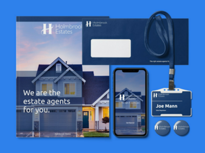 Holmbrook estate agents mockup