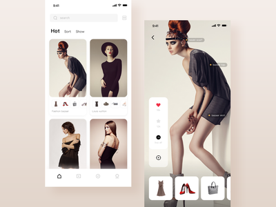 Fashion ux app ui how shopping model fashion app fashion home page home online retailers details page clothing clothes ppare