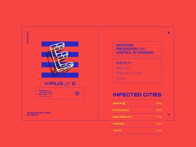 36 Days Of Type - Day 5 branding 36days-e ux brutalist brutalism simple ui webdesign website 36daysoftype design concept