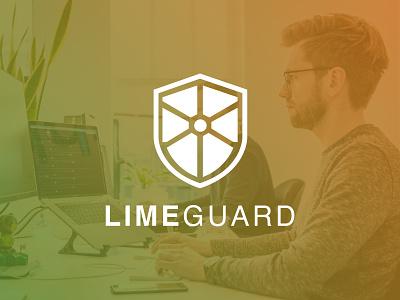 Logo Design for Lime Guard Security illustration branding design logo