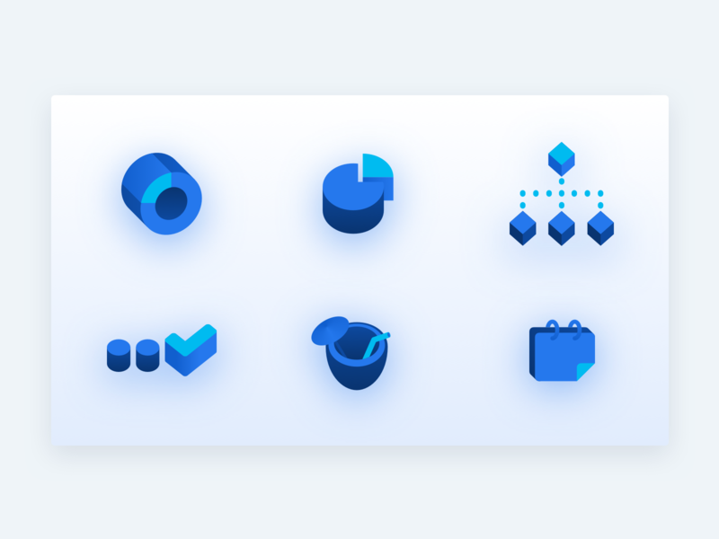 Work + fun icons dashboard to do calendar chart ui illustration icon