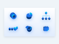 Work + fun icons