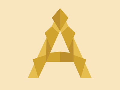 A is For Alone dropcap alphabet design illustration type lettering