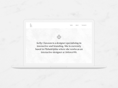 New Portfolio Site portfolio website white texture linear icons logo branding personal