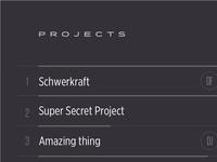 Project Status Board