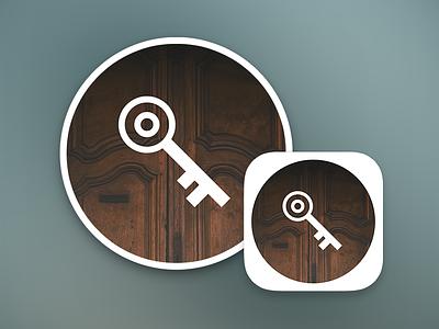 Alohomora app icon ios android key ios 7