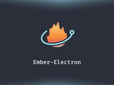 Logo for Ember-Electron fira mono electron logo ember-electron emberjs