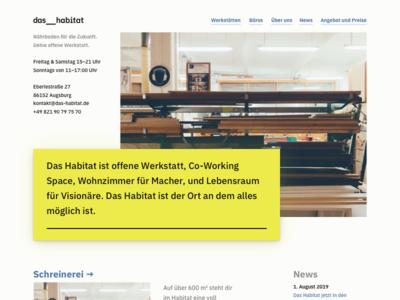 Das Habitat vsco ral 1016 ibm plex makerspace website