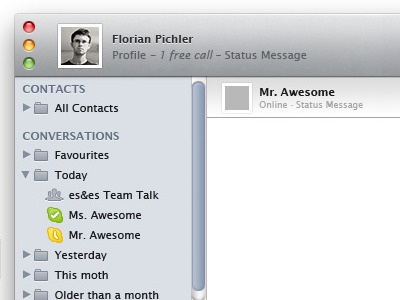 Skype 5 merged with iTunes 10