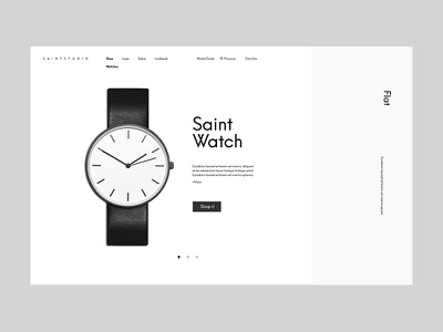 Saint Studio design digital ui ux interface