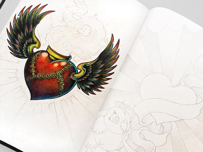 Sacred Heart Drawing