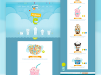 Dippin Dots Products Page