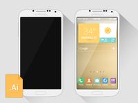 [Vector] Galaxy S4 Freebie