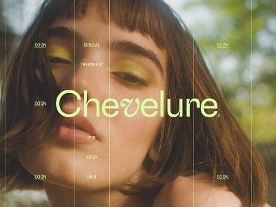 Chevelure® logo branding photography concept art minimalistic