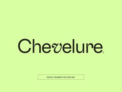 Chevelure® branding logo design ui concept art minimalistic
