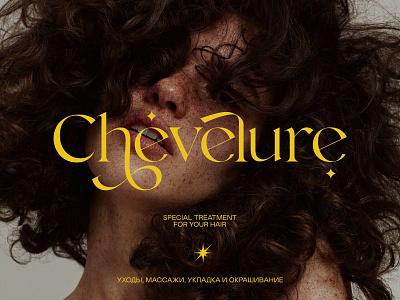 Chevelure® branding logo design photography concept art minimalistic