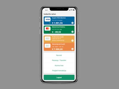 e-Banking app