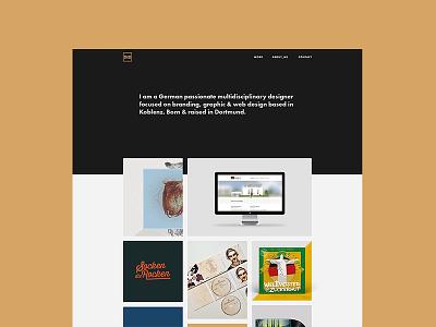 Sneak peek - relaunch website semplice clean relaunch