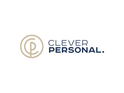 Clever Personal Logo clean logodesign company symbol mark identity branding logo