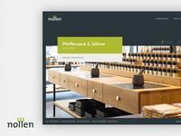 Nollen   Corporate Website