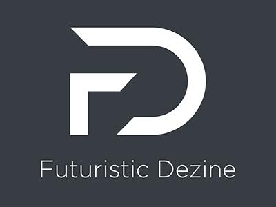 Logo for Futuristic Dezine graphic design design logo