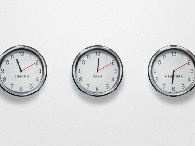 Clocks clock time icon vector psd chrome