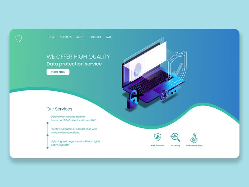 Security Webpage UI 1.1 security goodcolor download freelancer best bestdesign latest mockup creative personalsite website webpage landingpage portfoliosite userexperience agency uikit ui uidesign uiux